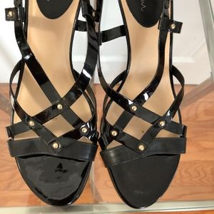 Gorgeous New Cole Haan Black Strappy Sandals!